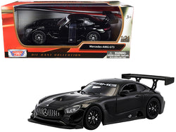 Mercedes AMG GT3 Black 1/24 Diecast Model Car by Motormax