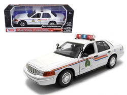 2001 Ford Crown Victoria Royal Canadian Mounted Police Car 1/18 Diecast Model Car by Motormax