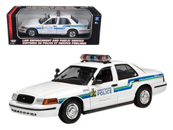 2001 Ford Crown Victoria Abbotsford Police 1/18 Diecast Model Car by Motormax