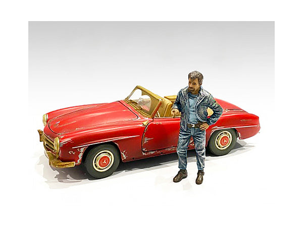 """Auto Mechanic"" Tim Figure for 1/24 Scale Models by American Diorama"