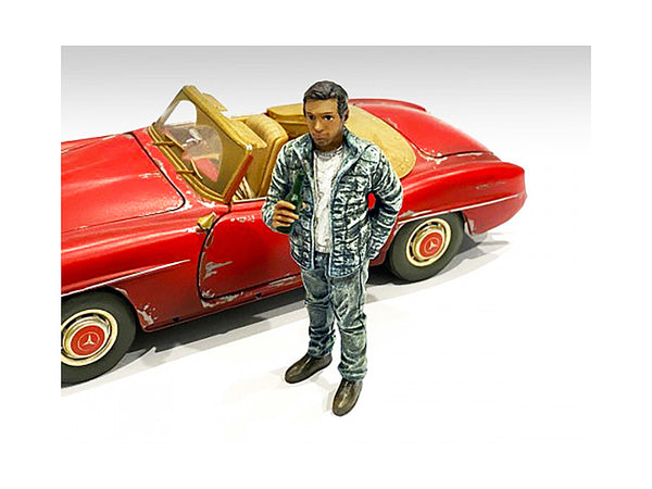 """Auto Mechanic"" Hangover Tom Figure for 1/24 Scale Models by American Diorama"
