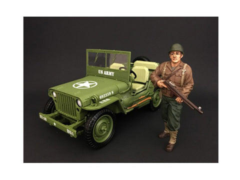 US Army WWII Figure II For 1:18 Diecast Models by American Diorama