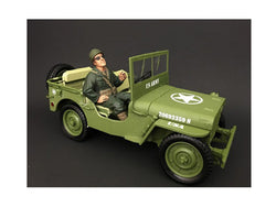 US Army WWII Figure III For 1:18 Diecast Models by American Diorama