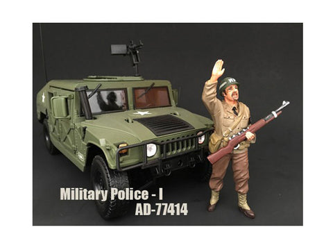 "WWII ""MP"" Figure I For 1:18 Diecast Models by American Diorama"