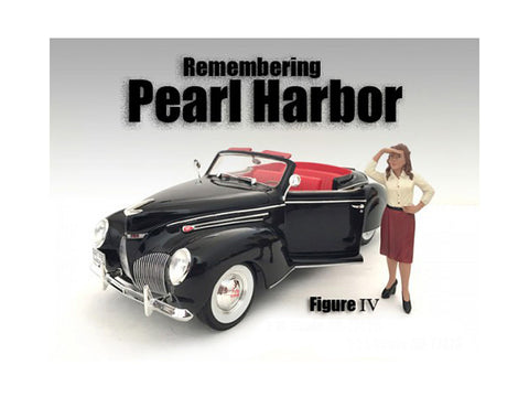 Remembering Pearl Harbor Figure IV For 1:18 Diecast Models by American Diorama