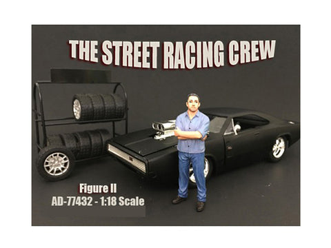 The Street Racing Crew Figure II For 1:18 Diecast Models by American Diorama
