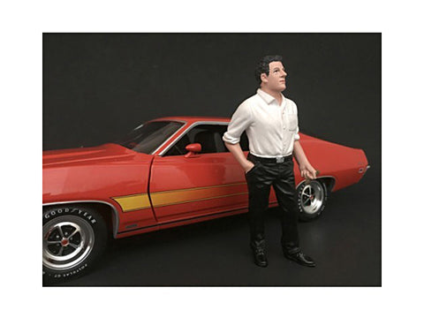 70's Style Figure #3 For 1:18 Scale Diecast Models by American Diorama