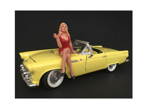 1970's Style Figure #4 For 1:18 Scale Diecast Models by American Diorama