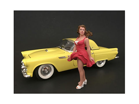 1970's Style Figure #8 For 1:18 Scale Diecast Models by American Diorama