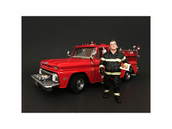 Firefighter Fire Chief Figure For 1:18 Diecast Models by American Diorama