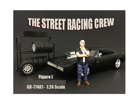 The Street Racing Crew Figure I For 1:24 Diecast Models by American Diorama