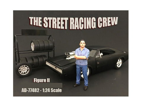 The Street Racing Crew Figure II For 1:24 Diecast Models by American Diorama