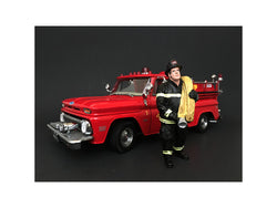Firefighter Job Done Figure For 1:24 Scale Diecast Models by American Diorama