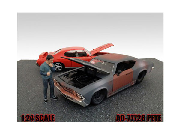 Mechanic Pete Figure for 1/24 Scale Models by American Diorama