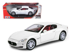 Maserati GT Gran Turismo White 1/18 Diecast Model Car by Motormax