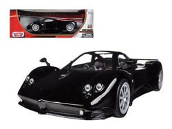 Pagani Zonda F Black 1/18 Diecast Model Car by Motormax