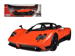 Pagani Zonda F Orange 1/18 Diecast Model Car by Motormax