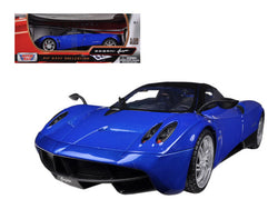 Pagani Huayra Blue 1/18 Diecast Model Car by Motormax