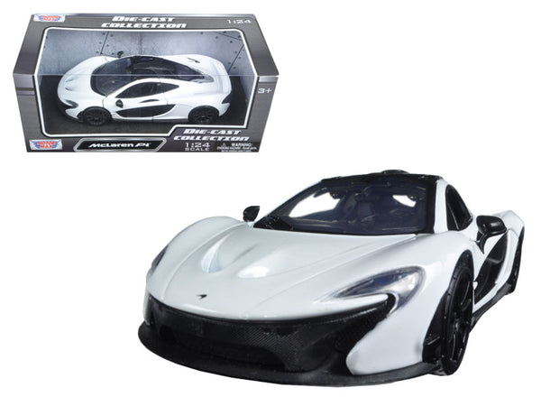McLaren P1 White 1/24 Diecast Model Car by Motormax