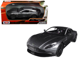 Aston Martin DB11 Silver 1/24 Diecast Model Car by Motormax