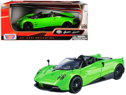 Pagani Huayra Roadster Green 1/24 Diecast Model Car by Motormax