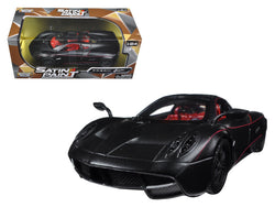 Pagani Huayra Matte Black 1/24 Diecast Model Car by Motormax