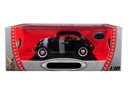1967 Volkswagen Beetle Black Limited Edition to 600 pieces Worldwide 1/18 Diecast Model Car by Road Signature
