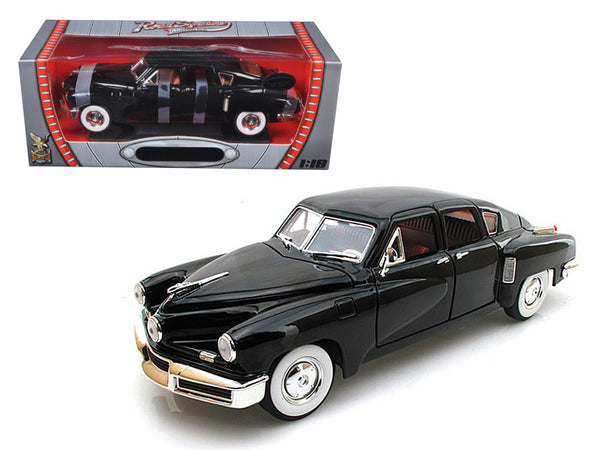 1948 Tucker Torpedo Black Limited Edition to 600pcs 1/18 Diecast Model Car by Road Signature