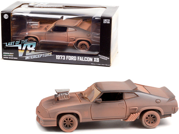 "1973 Ford Falcon XB (Weathered Version) ""Last of the V8 Interceptors"" (1979) Movie 1/24 Diecast Model Car by Greenlight"