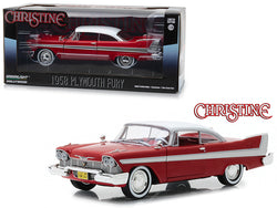 "1958 Plymouth Fury Red ""Christine"" (1983) Movie 1/24 Diecast Model Car by Greenlight"