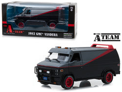"1983 GMC Vandura ""The A-Team"" (1983-1987) TV Series 1/24 Diecast Model by Greenlight"