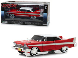 "1958 Plymouth Fury Red ""Evil Version"" with Blacked Out Windows ""Christine"" (1983) Movie 1/24 Diecast Model Car by Greenlight"