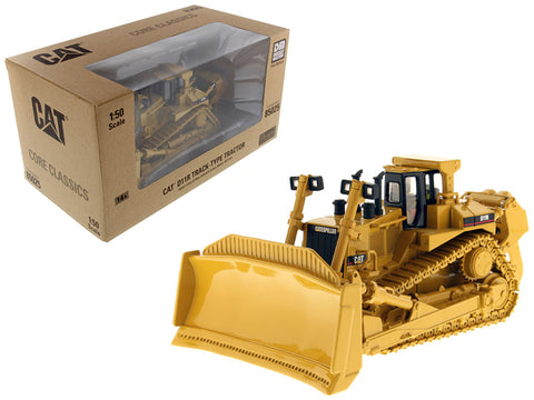 CAT Caterpillar D11R Track Type Tractor with Operator Core Classics Series 1/50 Diecast Model by Diecast Masters
