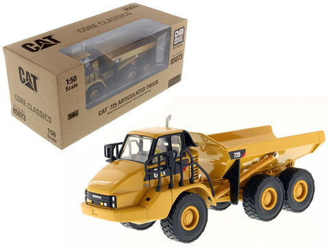 CAT Caterpillar 725 Articulated Truck with Operator Core Classics Series 1/50 Diecast Model by Diecast Masters