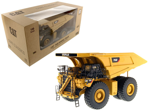 CAT Caterpillar 793D Mining Truck with Operator Core Classics Series 1/50 Diecast Model by Diecast Masters