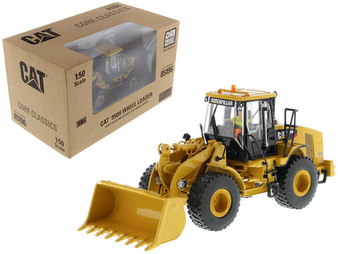 CAT Caterpillar 950H Wheel Loader with Operator Core Classics Series 1/50 Diecast Model by Diecast Masters