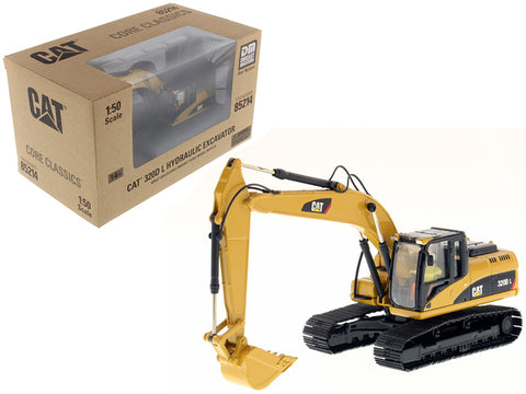 CAT Caterpillar 320D L Hydraulic Excavator with Operator Core Classics Series 1/50 Diecast Model by Diecast Masters
