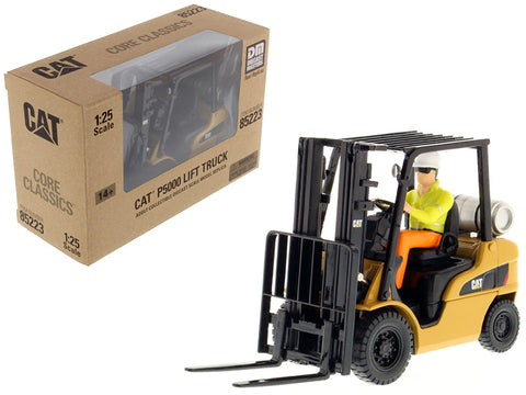 CAT Caterpillar P5000 Lift Truck with Operator Core Classics Series 1/25 Diecast Model by Diecast Masters