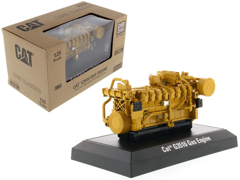CAT Caterpillar G3516 Gas Engine Core Classics Series 1/25 Diecast Model by Diecast Masters