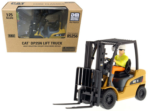 CAT Caterpillar DP25N DP/GP15-35N Range Lift Truck with Operator 1/25 Diecast Model by Diecast Masters