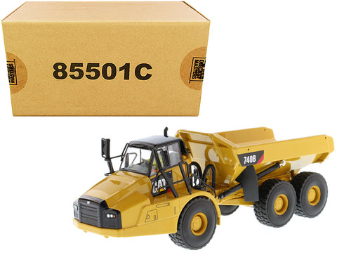 CAT Caterpillar 740B Articulated Hauler/Dump Truck with Tipper Body and Operator Core Classics Series 1/50 Diecast Model by Diecast Masters