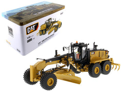 CAT Caterpillar 16M3 Motor Grader with Operator High Line Series 1/50 Diecast Model by Diecast Masters