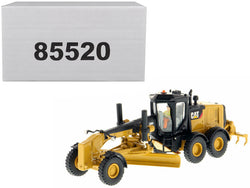 CAT Caterpillar 12M3 Motor Grader with Operator High Line Series 1/87 (HO) Scale Diecast Model by Diecast Masters