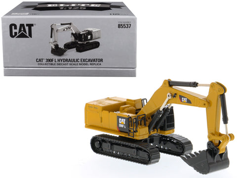 CAT Caterpillar 390F L Hydraulic Excavator Elite Series 1/125 Diecast Model by Diecast Masters