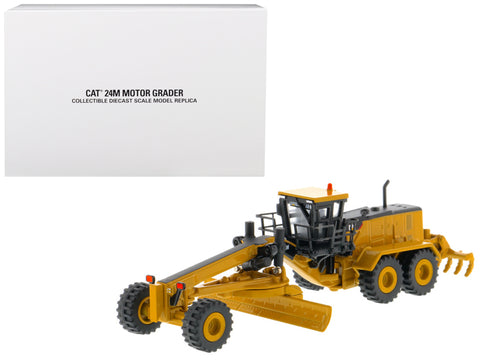 CAT Caterpillar 24M Motor Grader Elite Series 1/125 Diecast Model by Diecast Masters