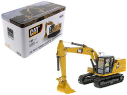 CAT Caterpillar 320 GC Hydraulic Excavator with Operator Next Generation Design High Line Series 1/50 Diecast Model by Diecast Masters