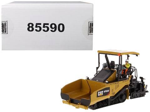 CAT Caterpillar AP655F Tracked Asphalt Paver with Operator High Line Series 1/50 Diecast Model by Diecast Masters