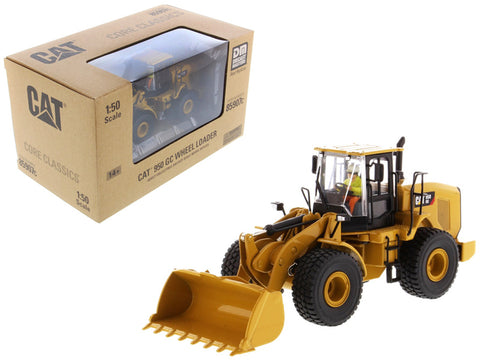 CAT Caterpillar 950 GC Wheel Loader with Operator Core Classics Series 1/50 Diecast Model by Diecast Masters