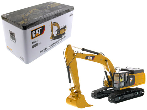 CAT Caterpillar 349F L XE Hydraulic Excavator with Operator High Line Series 1/50 Diecast Model by Diecast Masters
