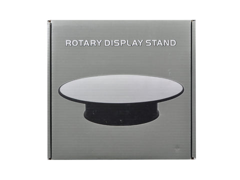 "Rotary Display Stand 8"" For 1/24 1/64 1/43 Model Cars With Mirror Top"